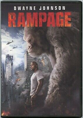 Rampage (DVD, 2018,) NEW Free Fast Shipping 🚀