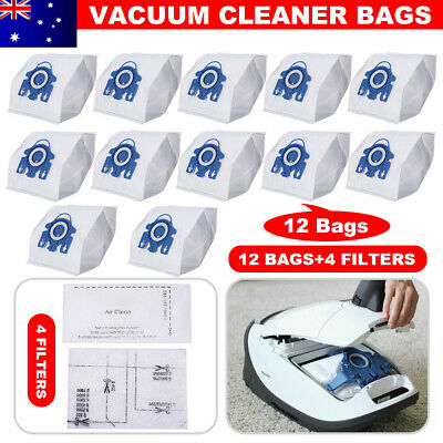 12 Vacuum Cleaner Bags Replace for Miele 3D GN C2 C3 S2 S5 S8 S5210 S5211 S8310