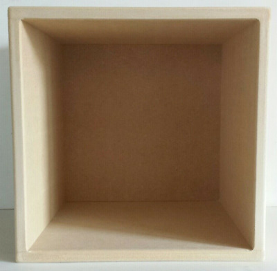 """12"""" Pair Of Vinyl Record Storage Cube  ( 2 Cube Special Offer With Solid Backs)"""