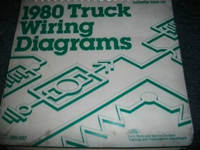 Oem 1991 Ford F600 F700 F800 Cowl Electrical Wiring Diagram Schematics Manual 8 51 Picclick Uk