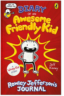 DIARY OF AN AWESOME FRIENDLY KID - Jeff Kinney HARDCOVER *BRAND NEW*
