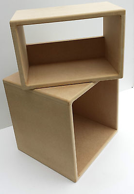 "12"" Vinyl Record Storage Cube (The Combination Includes 45 Rpm Cube)"