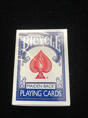 Bicycle Maiden Marked Playing Cards (Blue) Magic Trick  Deck Free Shipping!