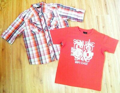 Boys Next T-Shirt & New Shirt 6 Yrs 5-6 Christmas Smart Party Top Jogger Jeans