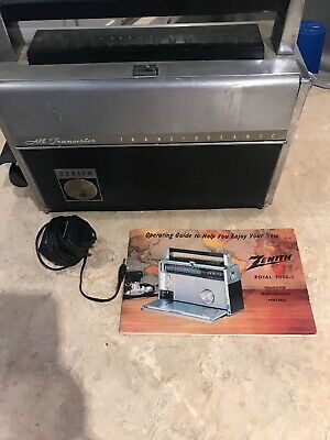 Vintage Zenith Transoceanic Royal 3000-1 Multiband All Transistor Radio