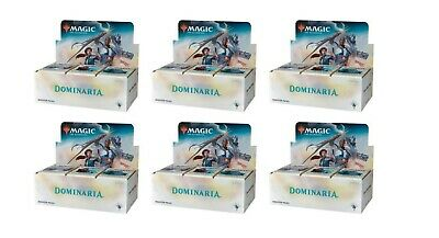 Magic MTG Dominaria Sealed Brand New Booster Box Case | 6 Booster Boxes English