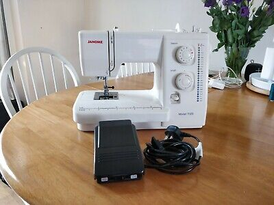 Janome 7025 Sewing Machine With Case - Used Twice - Relisted due to non-payer