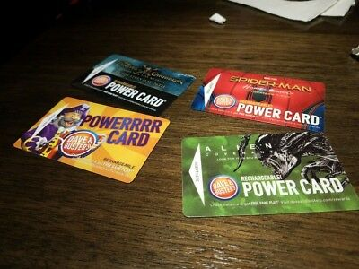 Dave and Busters Power Card - Empty