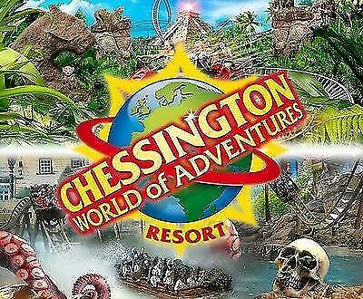 Chessington World of Adventures Ticket Tuesday 4th June   04.06.19   04/06/19