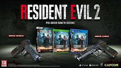 Resident Evil 2 Samurai Edge Handgun Chris & Jill Model DLC XBOX WORLDWIDE UK