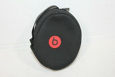 GENUINE Beats By Dre Neoprene Soft Zipper Headphones Pouch Bag 5.5 x 4 x 2 CLEAN