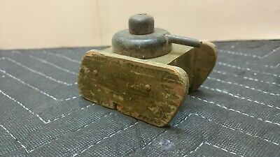 Vintage Antique Jaymar 1918 Wwi Wooden British Mark V Army Toy Tank Rare Wooden