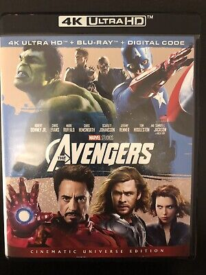 The Avengers (Blu-ray) No 4k Disc