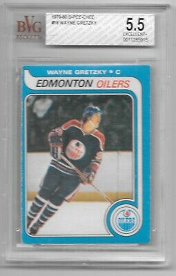 Wayne Gretzky Oilers 1979-80 O-Pee-Chee OPC BVG 5.5 Excellent + Rookie RC