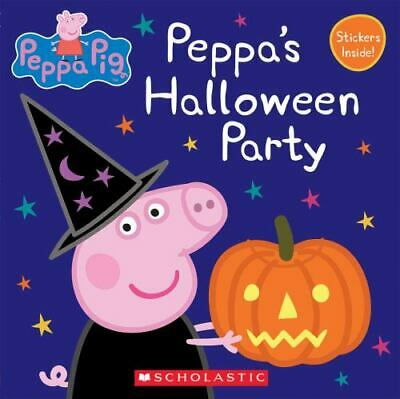 Peppa Pig: Peppa's Halloween Party Picture Book New Free Ship Kids Cartoon