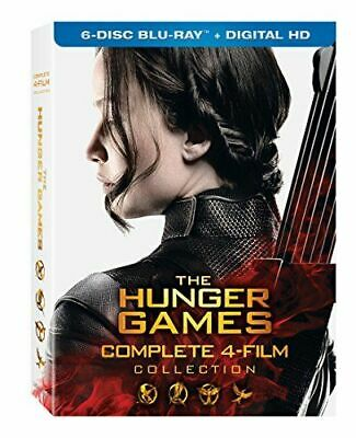 Hunger Games: Complete 4 Film Collection New Bluray