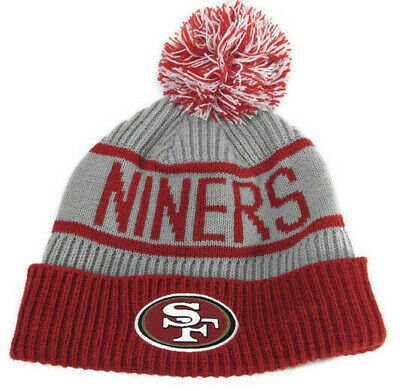 33ffba3b9bac0e San Francisco 49ers Beanie Hat NFL Football One Size Ski Snow Winter Sports  Knit