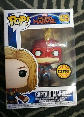 Funko Pop! Captain Marvel Limited Edition Chase
