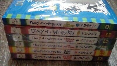 NEW Diary of a Wimpy Kid Series Collection 13 Books 1-13 Set by Jeff Kinney Lot