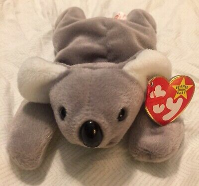a00ed27eb RARE AND RETIRED Beanie Baby TY Mel The Koala Bear, 1996. This Will Sell  Quickly