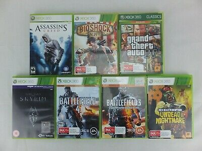 Lot of 7 x XBOX 360 Games