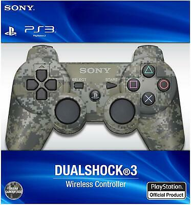 Official Sony PlayStation 3 PS3 DualShock 3 Controller Camo - Red (See Details)