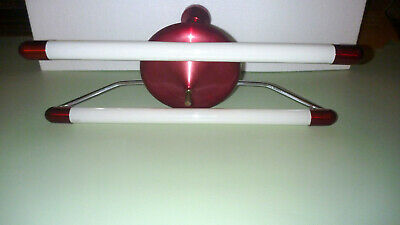 Vintage Retro Anodised Twin Fluorescent Ceiling Light