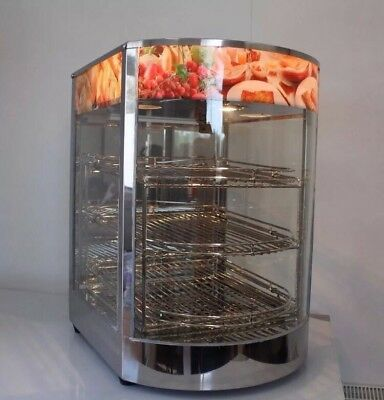New Counter Top Heated Display Cabinet, Pie warmer, Food Warmer 3 Level.