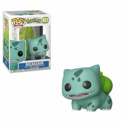 Funko Pokemon Bulbasaur Pop Vinile Figura #453 in Magazzino come Nuovo