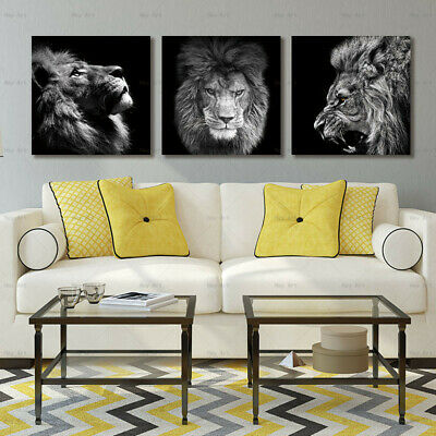 Decoration wall painting Animal lion abstract canvas painting house painting art