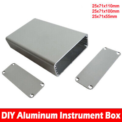 Aluminum Instrument DIY Case Project Box Enclosure Case Electronic
