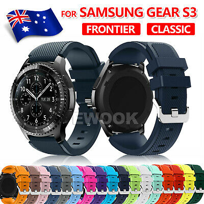 For Samsung Gear S3 Frontier Classic Fashion Sports Silicone Bracelet Strap Band