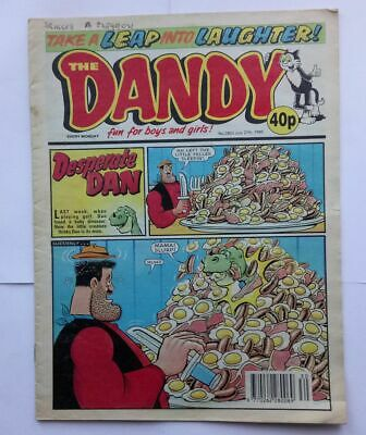 The Dandy 27th July 1996 Collectable Childrens Humour Humor Comic Magazine *