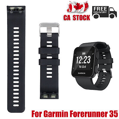 Replacement Wrist Band Strap For Garmin Forerunner 35 Silicone Bracelet CA NEW