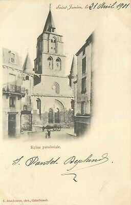87 SAINT JUNIEN l'eglise