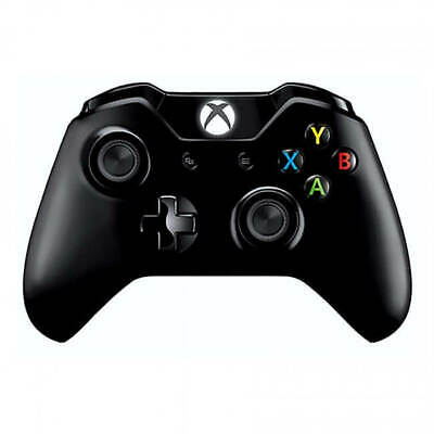 Xbox One Official Black Wireless Controller with 3.5mm jack Refurbished