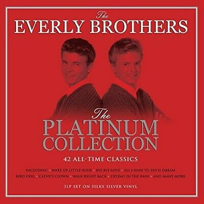 The Everly Brothers - Platinum Collection [New Vinyl] Colored Vinyl, Silver, UK