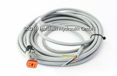 Cable with German Plug DT06- 4S, 4  Pin 16.4ft