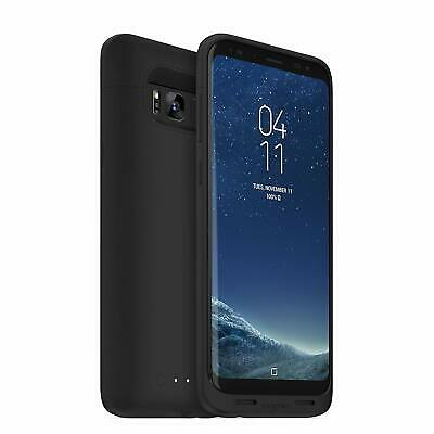 mophie Juice Pack Battery Charge Case Wireless for Samsung Galaxy S8 PLUS, Black