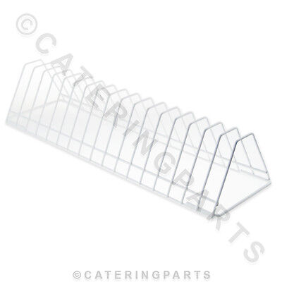 350Mm Coated Wire Plate Insert For Dishwasher Rack Holds 17 Small Plates