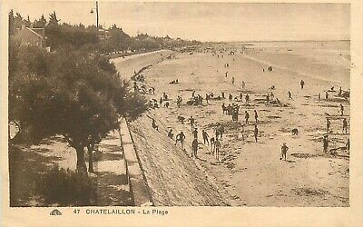 Cp Chatelaillon Plage Animee