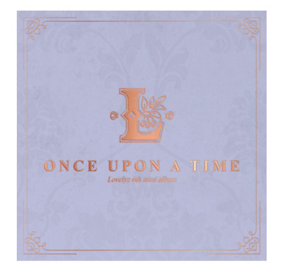"""K-POP Lovelyz 6th Mini Album """" ONCE UPON A TIME """" Official - 1 Photobook + 1 CD"""