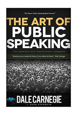 The Art of Public Speaking by Dale Carnegie -Paperback