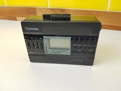 Vintage Toshiba KT-4529 Walkman Personal Cassette Player : Tested Working