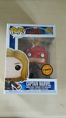 Pop Captain Marvel Chase Limited Edition Vinyl Figure (New)