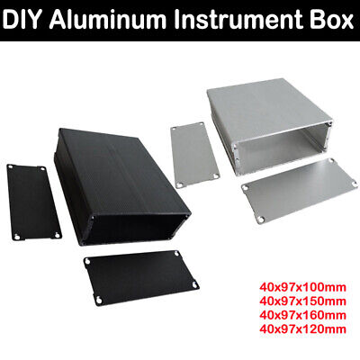 DIY Waterproof Electronic Project Instrument Case Box Connector Aluminum New
