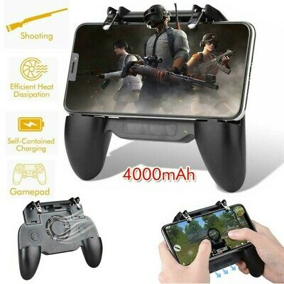 Mobile Phone Game Controller Joystick Cooling Fan Gamepad for IOS Android