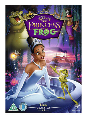 The Princess and the Frog    (DVD, 2010)  Disney  Children's