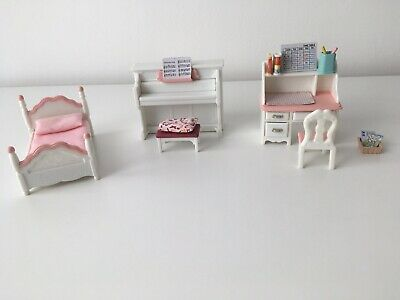 Sylvanian Families Bedroom Furniture And Accessories