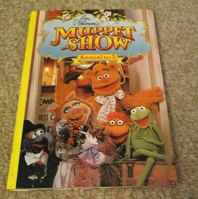 Jim Henderson's Muppet Show Annual No 3 unclipped